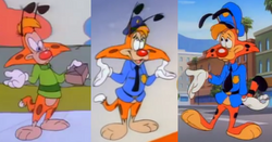Bonkers' design evolution