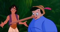 Cameo 12 - Pinocchio in Aladdin