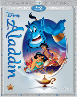 Disney Aladdin Diamond Edition Cover UPDATED
