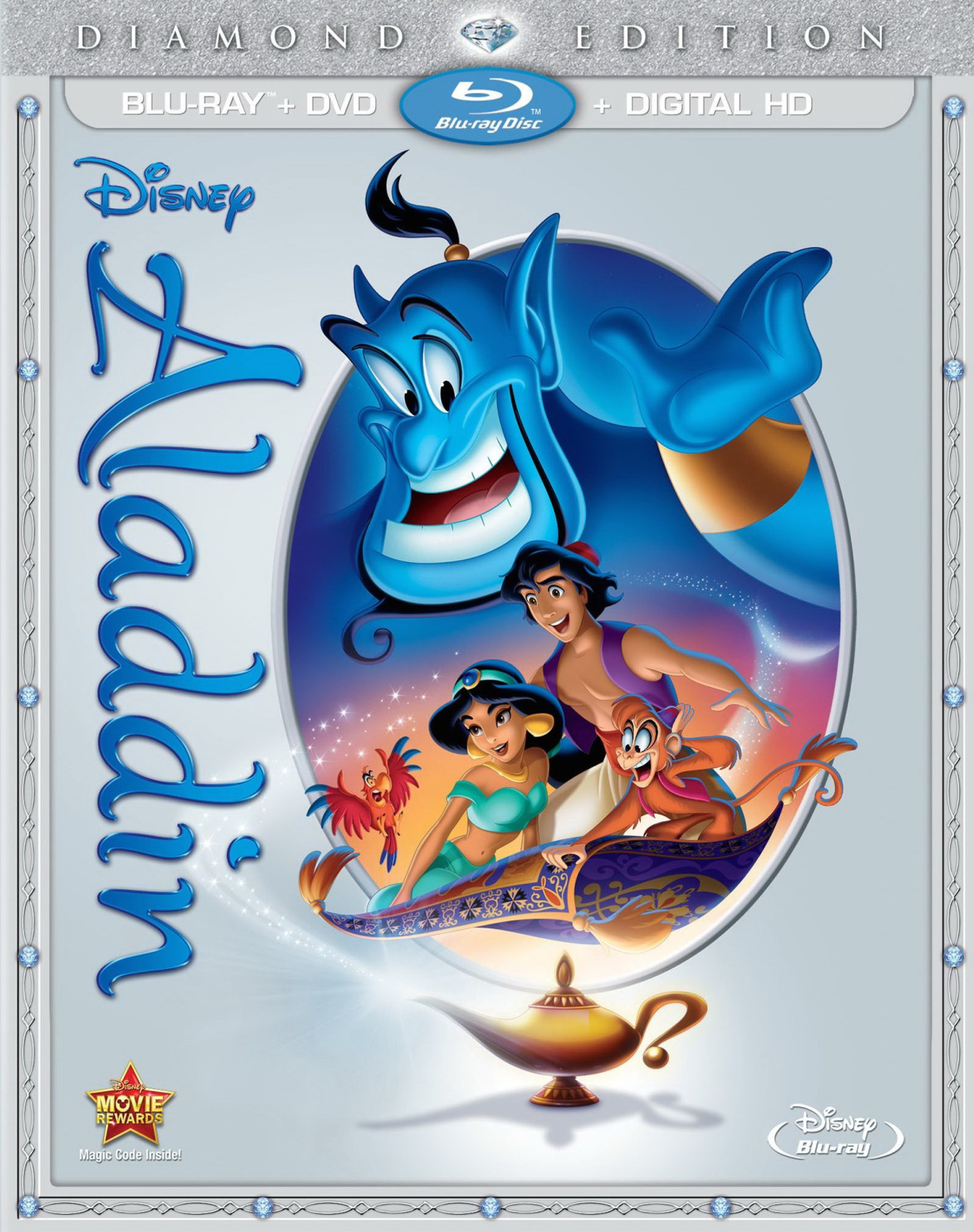 Snow white and the seven dwarfs diamond edition blu-ray/dvd combo.