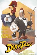DuckTales - You Only Crash Twice poster