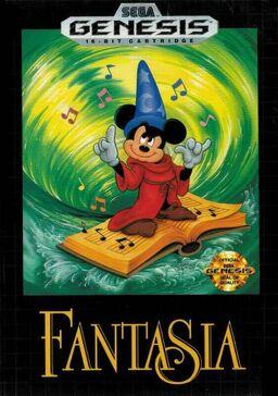 Fantasia Genesis game cover