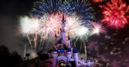 Fireworks-by-sleeping-beauty-castle