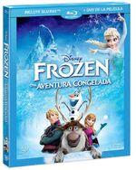 Frozen Blu-ray Mexico