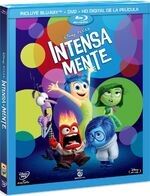 Inside Out Blu-Ray México