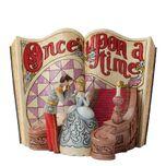Jim Shore Disney Traditions - Cinderella Story Book Figurine