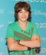 Leo Howard D23 Expo