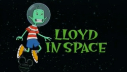 Lloyd in Space title card
