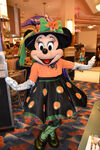 Minnie at Minnie's Halloween Dine