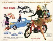 Monkey's Go Home Banner