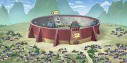 Ninki Ninja Fight Town - Anime Arena