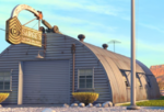 Sarge's surplus hut
