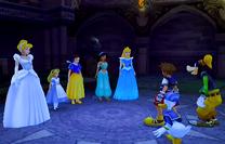 SoraDonaldGoofy&Princesas