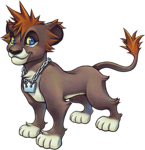 File:Sora (Lion Form) (Art).png