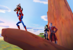 Spider-Man levanta Rocket
