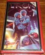 Tron Early 1980s AUS VHS