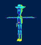Unused Woody Summon Model KHIIFM