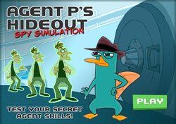 Agent P's Hideout Spy Simulation