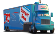 Bumper save hauler