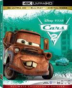 Cars 2 4KUHD Blu-ray
