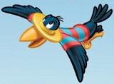 El Cuervo Sombrero de Paja