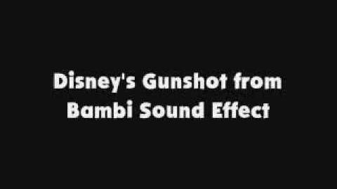 Disney's Gunshot from Bambi SFX