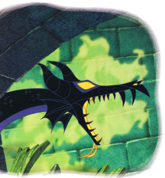 Dragon Maleficent in Maleficent's Revenge