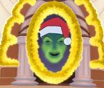 Espejo Navidad