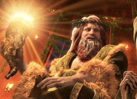 The Ghost Of Christmas Present Disney Wiki Fandom Powered By Wikia