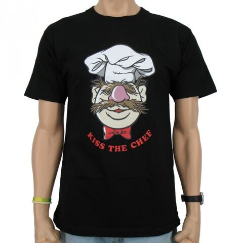 File:Logoshirt-TheSwedishChef-KissTheChef-T-Shirt-black.jpg