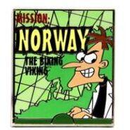 Norway pin