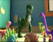 Rex e i dinosauri