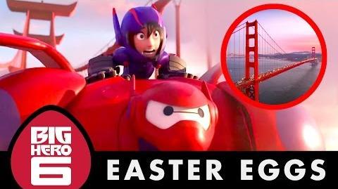 10 Easter Eggs Big Hero 6