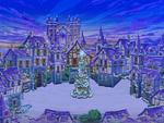 Daybreak Town Christmas Night