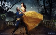 Disney Dream Portrait Series - Beauty and the Beast - Where a Moment of Beauty Lasts Forever