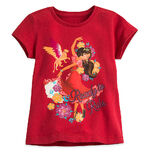 Elena of Avalor Tee for Girls red