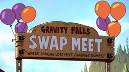 GF S2A6 Gravity Falls Vlooienmarkt