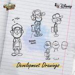Gravity Falls Concept Art - Dipper