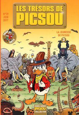 Les trésors de Picsou - 39 cover