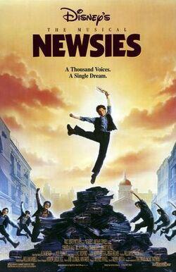 Newsies-Poster