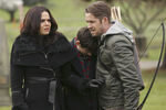 Once Upon a Time - 5x12 - Souls of the Departed - Publicity Images - Regina, Henry and Robin 2