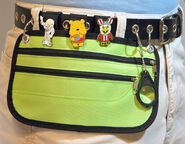 Pin Trading Belt Pouch
