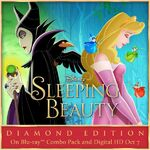 Sleeping Beauty Diamond Edition On Blu Ray Combo Pack and Digital HD Oct 7 Poster