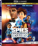 Spies in Disguise 4KUHD Bluray