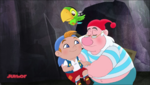 Cubby Skully and Smee - Hideout...It's Hook!