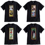 Disney Haunted Mansion villains T-shirts