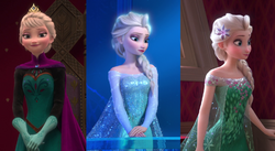 Elsa Appearance