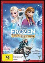 Frozen Sing Along Edition 2015 AUS DVD