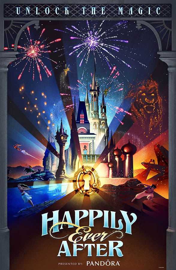 Happily Ever After Fireworks Show Disney Wiki Fandom