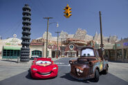 Lightning and Mater Cars Land 03